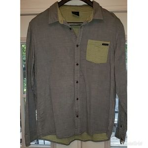 Mens Oakley Button Down